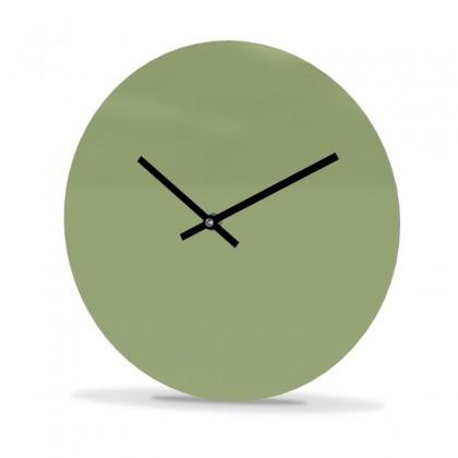 Wall Clock Acrylic Glass Round Unicolor