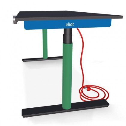 Eliot Desk Black Pro Halfed
