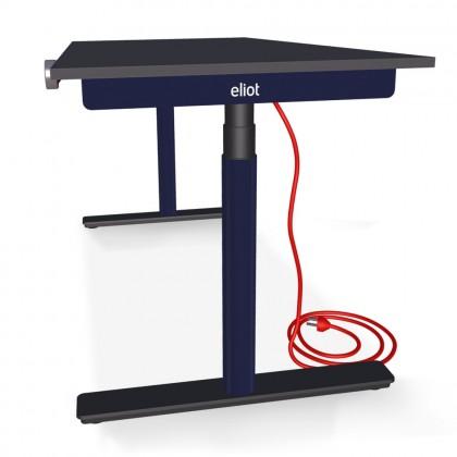 Eliot Desk Black Pro Unicolor