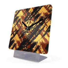 Alarm Clock Acrylic Glass Grunge