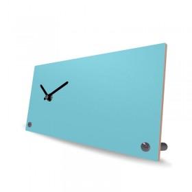 Desk Clock Wood Unicolor