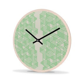 Wall Clock Wood Round Connector