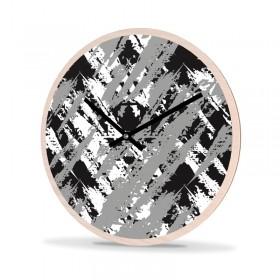 Wall Clock Wood Round Grunge